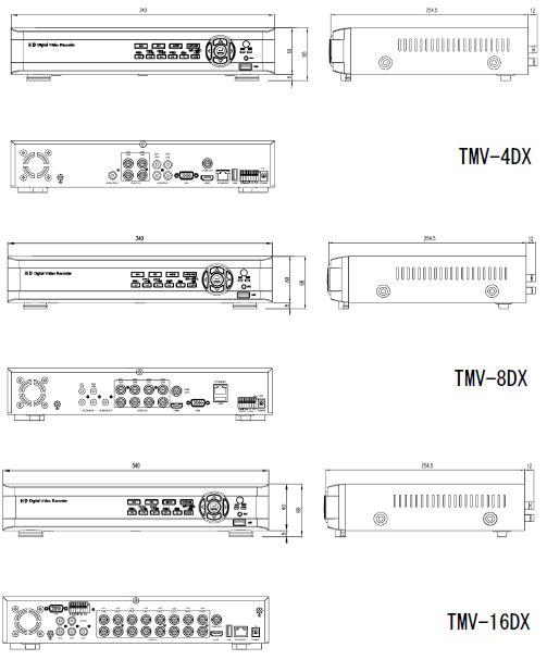 TMV-DX外形
